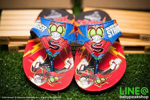 รองเท้าแตะเด็ก Masked Rider