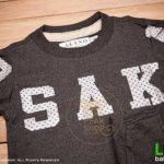 เสื้อยืดเด็กแขนสั้น-alano-OSAKA-ดำ-c