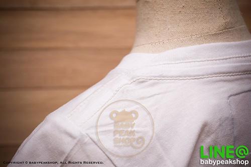 เสื้อยืดเด็กแขนสั้น KANGAROO ผ้า cotton แท้ สีขาวสกรีนกำมะหยี่ 1954JPN คุณภาพดี ไซส์ S-M-L-XL-XXL 5