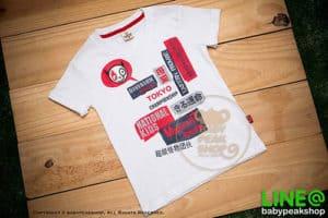 เสื้อยืดแขนสั้นเด็กเล็กสไตล์เกาหลี MONSTER GANG TK009 ผ้า cotton แท้เนื้อนุ่ม สกรีน TOKYO คุณภาพเยี่ยม ไซส์ 1-2-3 8