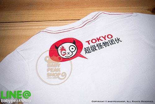 เสื้อยืดเด็ก-TK009-สีขาว-d