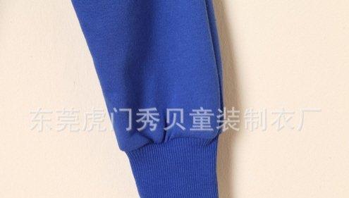 [ส่งฟรี] กางเกงเด็กขายาว เอวยางยืดแต่งกระเป๋าด้านหลัง สกรีน Mr.Potato Beard 11