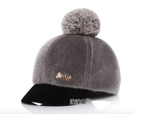 [ส่งฟรี] หมวกกันหนาวเด็ก ด้านหลังเป็นเมจิกเทป สามารถปรับขนาดได้ 2