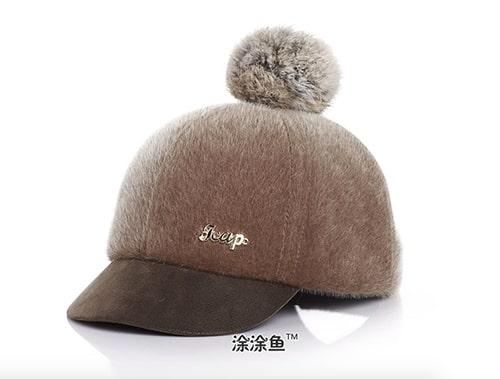 หมวกกันหนาวเด็ก ด้านหลังเป็นเมจิกเทป สามารถปรับขนาดได้ 3