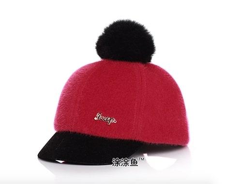 หมวกกันหนาวเด็ก ด้านหลังเป็นเมจิกเทป สามารถปรับขนาดได้ 4