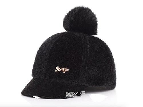 หมวกกันหนาวเด็ก ด้านหลังเป็นเมจิกเทป สามารถปรับขนาดได้ 5