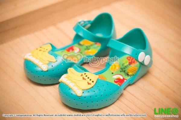 รองเท้ารัดส้นยางเด็กผู้หญิง