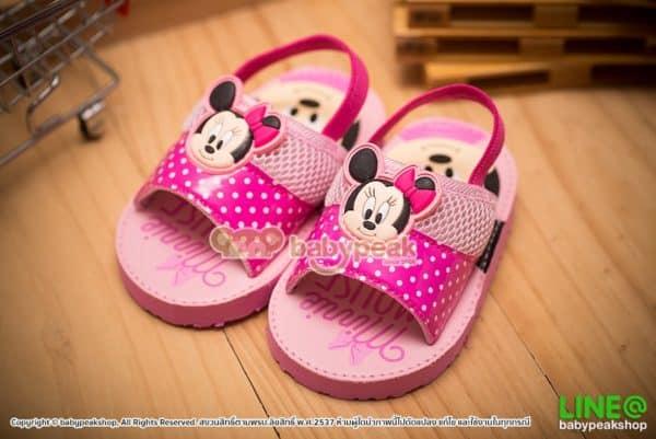 รองเท้าแตะรัดส้น Minnie Mouse