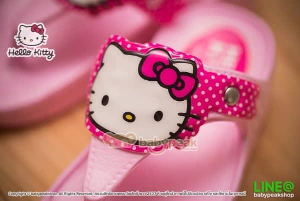 รองเท้าแตะ Hello Kitty
