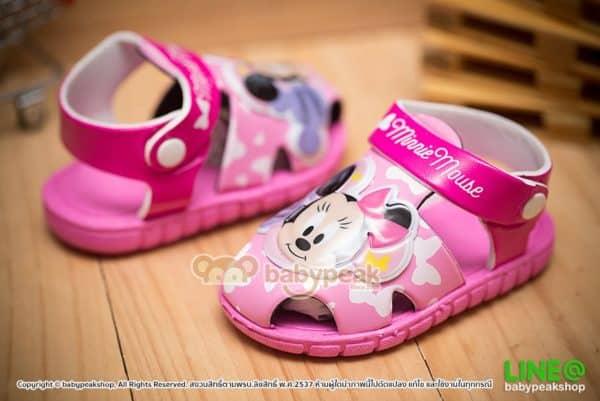รองเท้ารัดส้นเด็ก Minnie Mouse