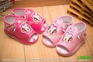 รองเท้าหัดเดินรัดส้น Minnie Mouse