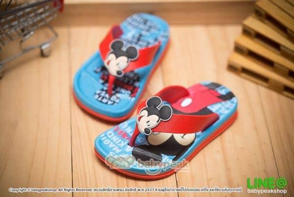 รองเท้าแตะคีบ Mickey Mouse