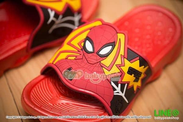 รองเท้าแตะสวม Spiderman