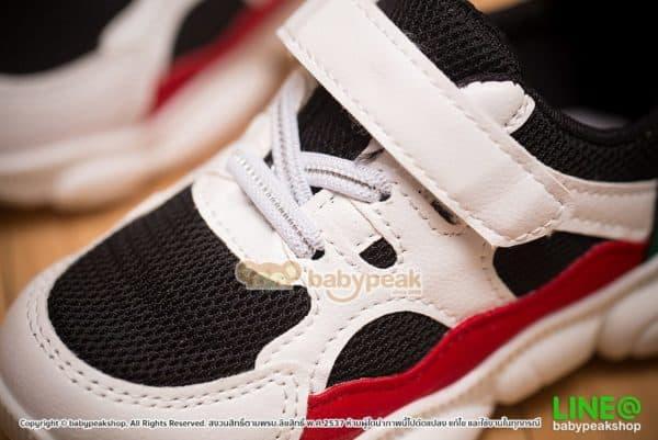 รองเท้าผ้าใบเด็กสไตล์สปอร์ต