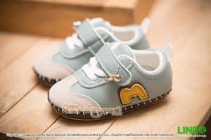 รองเท้าผ้าใบเด็กเล็กหัดเดิน