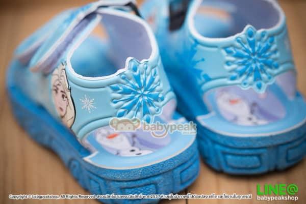 รองเท้าแตะรัดส้น Frozen