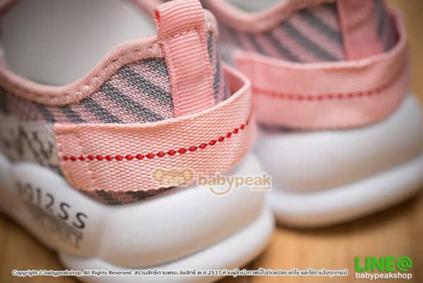 รองเท้าผ้าใบเด็กผูกเชือก