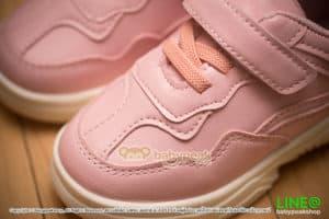 รองเท้าผ้าใบเด็กเมจิกเทป