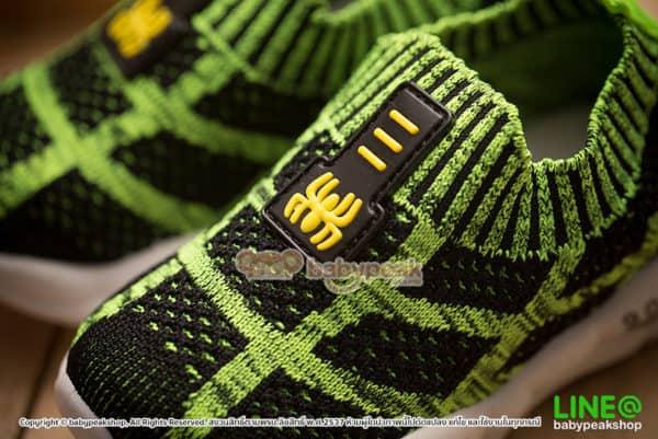 รองเท้าผ้าใบเด็กลายแมงมุม