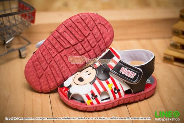 รองเท้ารัดส้น Mickey Mouse