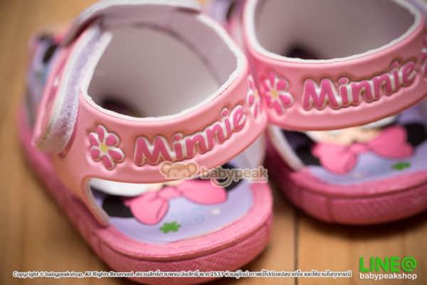 รองเท้ารัดส้น Minnie Mouse