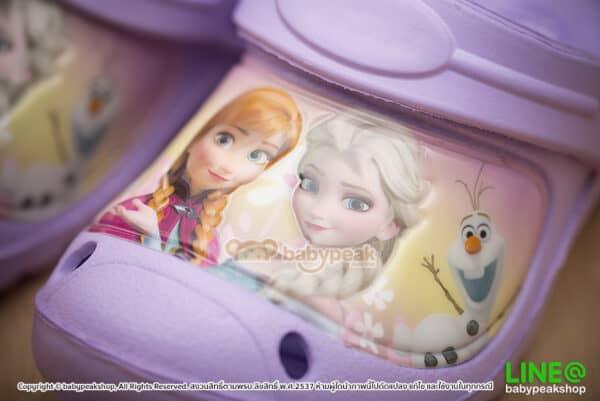 รองเท้าหัวโตรัดส้น Frozen