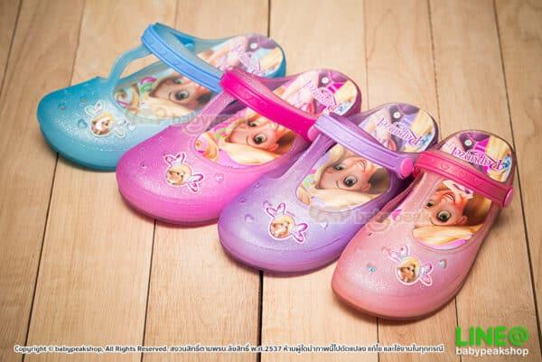 รองเท้าสวมรัดส้น Rapunzel