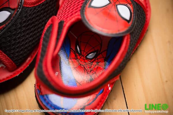 รองเท้ารัดส้น Spiderman