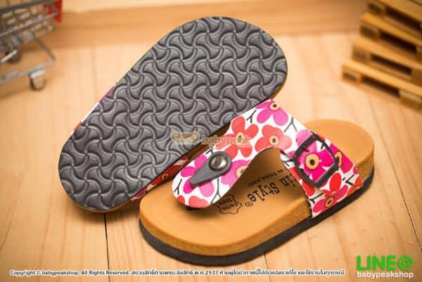 รองเท้าแตะไบเก้นเด็กผู้หญิง